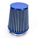 """hesapli Egzoz Sitemleri-Araç hava giriş filtresi mavi gözlü değiştirme 76mm 3 """"plastik hortum kelepçesi konik"""