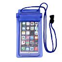 hesapli Yüzmeye Yardımcı Araçlar-Kuru Tutan Çantalar / Kuru Kutular Su Geçirmez, Ceptelefonu Dalış PVC  İçin