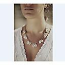 ieftine Coliere-Pentru femei Coliere cu Pandativ Cowry Aliaj Argintiu Auriu Coliere Bijuterii Pentru Petrecere Zilnic Casual