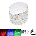 cheap LED Strip Lights-SENCART 2.5m RGB Strip Lights 150 LEDs 5050 SMD RGB Remote Control / RC / Cuttable / Dimmable 100-240 V / IP65 / Waterproof / Linkable / Suitable for Vehicles / Self-adhesive