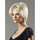 preiswerte Make-up & Nagelpflege-Synthetische Perücken Glatt Synthetische Haare Perücke Damen Kurz Kappenlos
