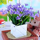 baratos Cabos USB-Flores artificiais 1 Ramo Pastoril Estilo Orquideas Flor de Mesa