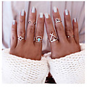 cheap Rings-Women's Statement Ring - Alloy Fashion One Size Silver For Daily Casual