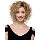 preiswerte Make-up & Nagelpflege-Synthetische Perücken Damen Locken Synthetische Haare Perücke Kurz Kappenlos Blondine StrongBeauty