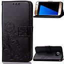 hesapli Galaxy S Serisi Kılıfları / Kapakları-Pouzdro Uyumluluk Samsung Galaxy Samsung Galaxy Note Cüzdan / Kart Tutucu / Satandlı Tam Kaplama Kılıf Çiçek PU Deri için Note 5 / Note 4 / Note 3