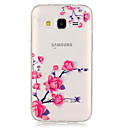voordelige Overige hoesjes / covers voor Samsung-hoesje Voor Samsung Galaxy Samsung Galaxy hoesje Transparant Achterkant Bloem TPU voor Grand Prime Core Prime
