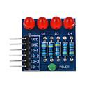Недорогие Коннекторы и терминалы-4p светодиод ШИМ затемнением модуль красный свет - синий + красный + многоцветной подходит для Arduino научных исследований