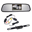 "cheap Bluetooth Car Kit/Hands-free-4.3"" TFT LCD Monitor Car Rearview Wireles 170° Backup Reverse Camera Kit Night Vision"
