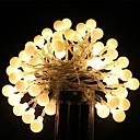 hesapli LEDler-5m Dizili Işıklar 40 LED'ler Dip Led Sıcak Beyaz / RGB / Beyaz Şarj Edilebilir / Su Geçirmez 100-240 V / IP65