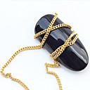 hesapli Makyaj ve Tırnak Bakımı-1 pcs Nail Jewelry Punk / Moda Günlük Tırnak Tasarımı Tasarımı / Metal