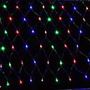 hesapli LED Şerit Işıklar-3mx2m 200led ev açık tatil noel noel dekoratif düğün net örgü dize peri perde garlands parti ışık