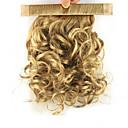 hesapli Makyaj ve Tırnak Bakımı-Klipsli At Kuyrukları Elastik Etrafına sarmak Sentetik Saç Saç Parçası Ek saç Bukle