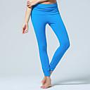 ieftine Șervețele & Inele de Șervețele-CONNY Pentru femei Sport Elastan Pantaloni Zumba Yoga Pilates Îmbrăcăminte de Sport Respirabil Lin Strech