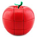 hesapli Yüzmeye Yardımcı Araçlar-Rubik küp YONG JUN 3*3*3 Pürüzsüz Hız Küp Sihirli Küpler bulmaca küp profesyonel Seviye Hız Apple Klasik & Zamansız Çocuklar için Yetişkin Oyuncaklar Genç Erkek Genç Kız Hediye