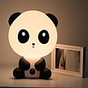 お買い得  オートバイ用プロテクション用品-赤ちゃんのベッドルームランプ夜の光の漫画のペットウサギのパンダpvcプラスチック睡眠led子供の電球夜光
