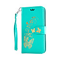 cheap Car Mounts & Holders-Case For LG K8 / LG / LG G4 LG Case Wallet / Card Holder / with Stand Full Body Cases Flower Hard PU Leather for LG G4 Stylus / LS770