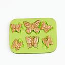 hesapli Peçeteler ve Peçete Halkaları-Bakeware araçları Silikon Kendin-Yap Kek / Tart / Çikolota karikatür Şekilli Pişirme Kalıp 1pc