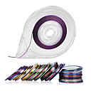 cheap Makeup & Nail Care-30colors striping tape line nail art decoration stickers free tape roller dispenser