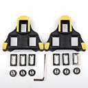 preiswerte USB Kabel-Cleat / XPT / SPD 6 Stufen pendeln Rutschfest, Kompatibel mit SHIMANO, Langlebig Rennrad Synthetik Gelb / schwarz / Gelb Rot - 2 pcs