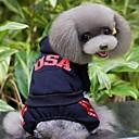 hesapli Köpek Giyim ve Aksesuarları-Kediler / Köpekler Kostümler / Paltolar / Kapüşonlu Giyecekler / Tişört / Pantalonlar / Tulumlar Kırmızı / Siyah / Gri / GülKış /