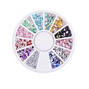 ieftine Artă Ștrasuri Colorate-1 pcs Bijuterie unghii Încântător nail art pedichiura si manichiura Glitters / Unghiul de bijuterii
