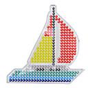 ieftine alte DIY-Margele de siguranțe Navă 5mm șablon Plastic Clasic Băieți Fete Jucarii Cadou