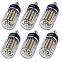 hesapli LED Mum Işıklar-YouOKLight 1200 lm E14 E26/E27 E12 LED Mısır Işıklar T 120 led SMD 5736 Dekorotif Sıcak Beyaz Serin Beyaz AC 110-130V AC 220-240V AC