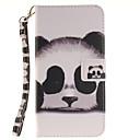 ieftine Autocolante Husă Mac-Maska Pentru Samsung Galaxy Samsung Galaxy Note7 Titluar Card Portofel Întoarce Model Carcasă Telefon Pisica Greu PU piele pentru Note 7