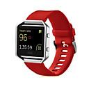 Недорогие Товары для ухода за собаками-Ремешок для часов для Fitbit Blaze Fitbit Спортивный ремешок силиконовый Повязка на запястье