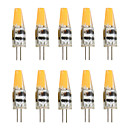 ieftine Ustensile & Gadget-uri de Copt-10pcs 2 W Becuri LED Bi-pin 200-250 lm G4 T 1 LED-uri de margele COB Decorativ Alb Cald Alb Rece 12 V / 10 bc