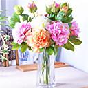 رخيصةأون سلاسل المفاتيح-زهور اصطناعية 1 فرع ستايل حديث الفاوانيا أزهار الطاولة