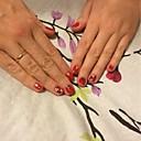 ieftine Machiaj & Îngrijire Unghii-30 pcs Bijuterie unghii nail art pedichiura si manichiura Încântător Clasic Zilnic / Plastic / Unghiul de bijuterii
