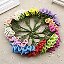 preiswerte Badezimmer Gadgets-Künstliche Blumen 1 Ast Hochzeitsblumen Calla-Lilien Tisch-Blumen