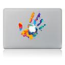 hesapli Mac Stickerlar-1 parça Deri Etiket için Çizilmeye Dayanıklı Yağlı Boya Tema PVC MacBook Pro 15'' with Retina MacBook Pro 15'' MacBook Pro 13'' with