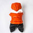 preiswerte Make-up & Nagelpflege-Katze Hund Mäntel Austattungen Kapuzenshirts Hundekleidung Einfarbig Orange Rose Rot Grün Blau Baumwolle Kostüm Für Haustiere Herrn Damen