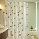 Недорогие Гаджеты для ванной-Шторка для ванной Modern PEVA Новинки механически