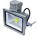 baratos Focos de LED-Jiawen 20W 1800lm pir sensor de movimento lâmpada de indução de luz de inundação levou à prova d'água (AC85-265V)