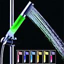 hesapli LED Duş Başlıkları-sds-a13 renkli led duş duş çubuk / el duş (abs galvanik)