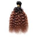 preiswerte Make-up & Nagelpflege-1 Bündel Indisches Haar Wogende Wellen Echthaar Ombre Ombre Menschliches Haar Webarten Haarverlängerungen
