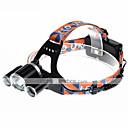 Χαμηλού Κόστους Φακοί Κεφαλιού-U'King ZQ-X820 Φακοί Κεφαλιού Μπροστινό φως LED 2000 lm 4.0 Τρόπος LED Συναγερμός Επαναφορτιζόμενο Μικρό Μέγεθος Εύκολη μεταφορά