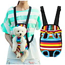 cheap Dog Clothing & Accessories-Cat Dog Carrier & Travel Backpack Front Backpack Pet Baskets Stripe Portable Breathable Stripe For Pets