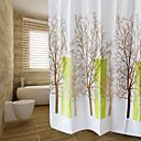 tanie Przybory i gadżety do pieczenia-Zasłony prysznicowe Nowoczesny PEVA Kwiatowy/roślinny Machine Made