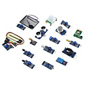 hesapli LED Aksesuarlar-Ahududu pi 3b / 2b / b için 1 sensör modülü kit eicoosi 16