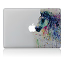 hesapli Mac Stickerlar-1 parça Deri Etiket için Çizilmeye Dayanıklı Yağlı Boya Tema PVC MacBook Pro 15'' with Retina MacBook Pro 15'' MacBook Pro 13'' with