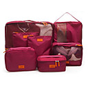 Buy Travel Bag Luggage Organizer / Packing Shoes Storage Waterproof Dust Proof Foldable Fabric Oxford Cloth