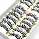 Χαμηλού Κόστους Μακιγιάζ και περιποίηση νυχιών-Βλεφαρίδα 20 Επεκταμένο Ανυψωμένες Βλεφαρίδες Volumized Φυσικό Machiaj Petrecere Machiaj Zilnic Βλεφαρίδες ολόκληρες Χιαστί Φυσικά μακριές