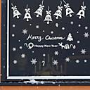 저렴한 홈 데코레이팅-데코레이티브 월 스티커 - 플레인 월스티커 / 거울 벽스티커 로맨스 / 크리스마스 / 휴일 샵 / 까페 / 이동가능