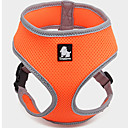 hesapli Köpek Oyuncakları-Köpek Koşum Takımı Nefes Alabilir / Ayarlanabilir / İçeri Çekilebilir / Vesta Solid File Yeşil / Mavi / Pembe