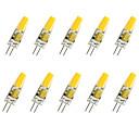 preiswerte LED-Kolbenbirnen-jiawen 10 stücke 1,5 watt 120-150lm g4 led mais lichter t cob led perlen cob dekorative warmweiß / kaltweiß dc 12 v