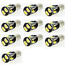 hesapli Oto Stickerları-10pcs Araba Ampul SMD 5630 LED Kapı Lambası / Muayene lambası / Plaka Işığı